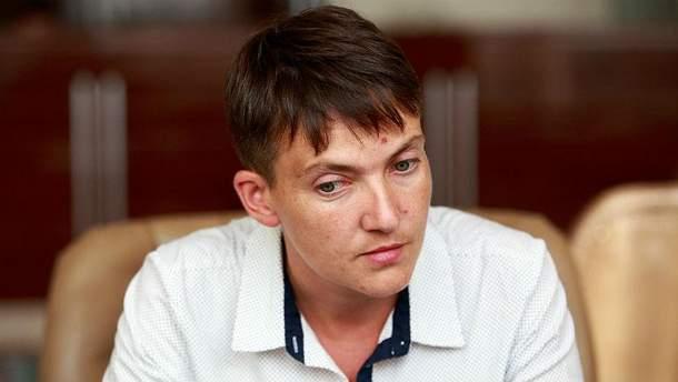 Савченко снова сменила стиль
