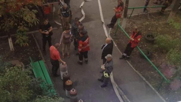 На крыше многоэтажки в Киеве прогремел мощный взрыв