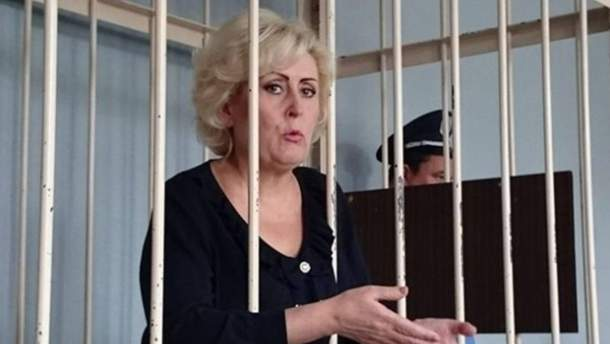 Сепаратистку звільнили під домашній арешт