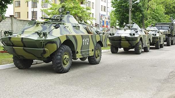 Российские войска в Приднестровье (иллюстрация)