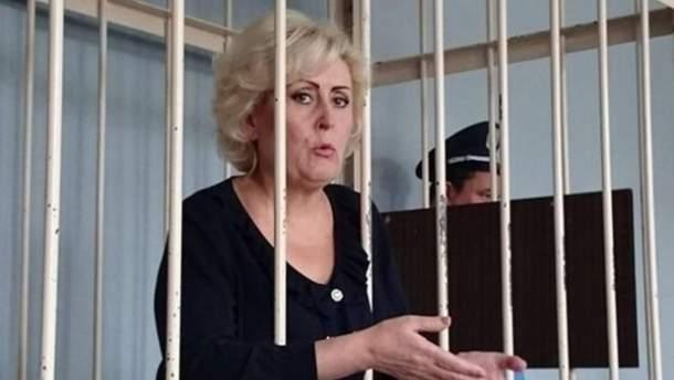 Сепаратистку освободили под домашний арест