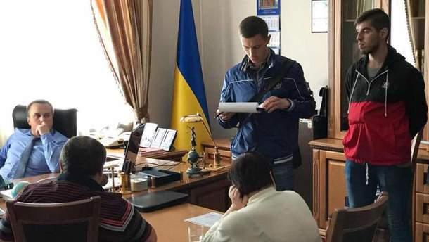 Задержание Подберезного и Овчаренко
