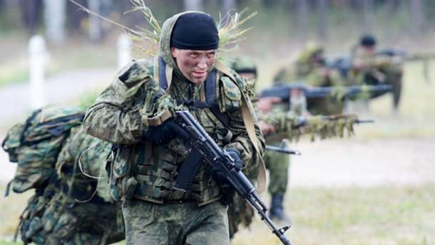 Российский спецназ на Донбассе