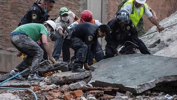 Землетрясение в Мексике унесло жизни 273 человек