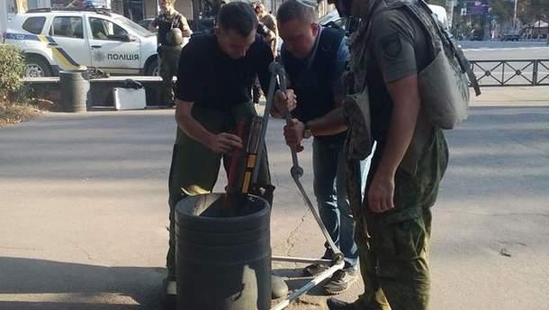 В Мариуполе обезвредили взрывчатку