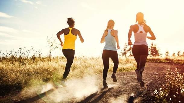 Займайтеся спортом і будьте здорові