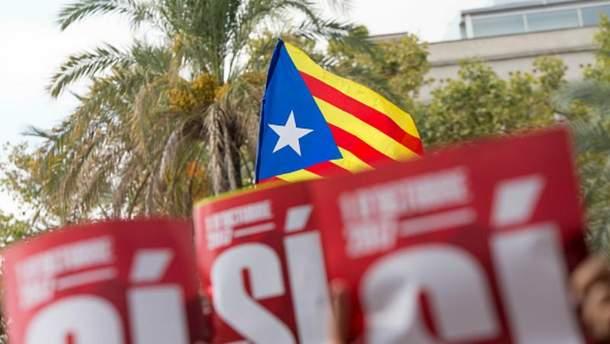 Референдум про незалежність запланований в Каталонії на 1 жовтня