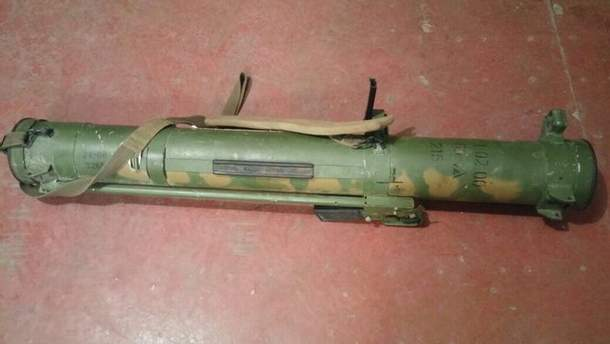 Русское оружие на Донбассе