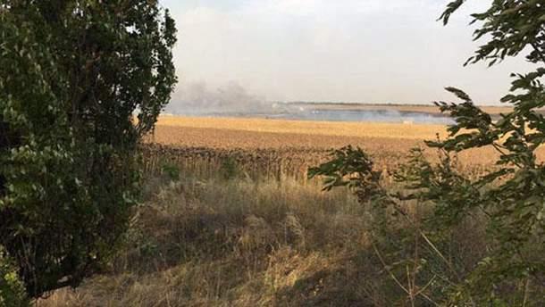 На складах боеприпасов в Донецкой области прозвучал ряд взрывов