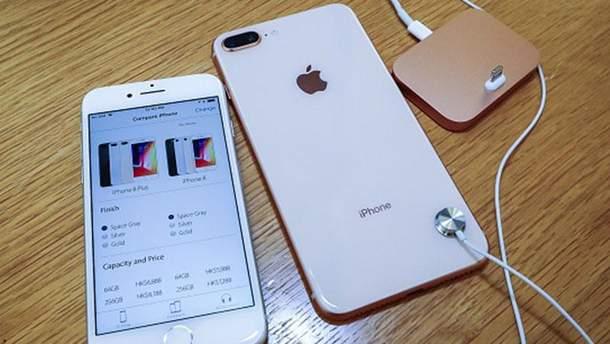 iPhone 8 разобрали на части