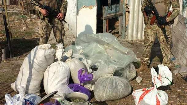 На Херсонщині правоохоронці вилучили наркотиків на 11 млн гривень
