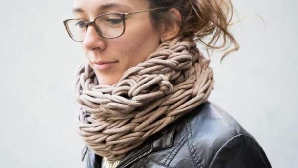 7 оригінальних способів, як одягати шарф-хомут