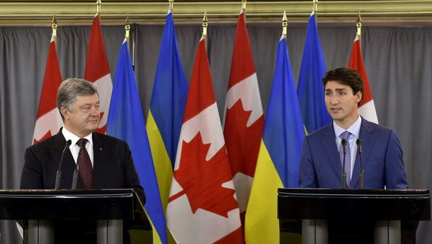 Канада хоче зняти обмеження на торгівлю зброєю із Україною