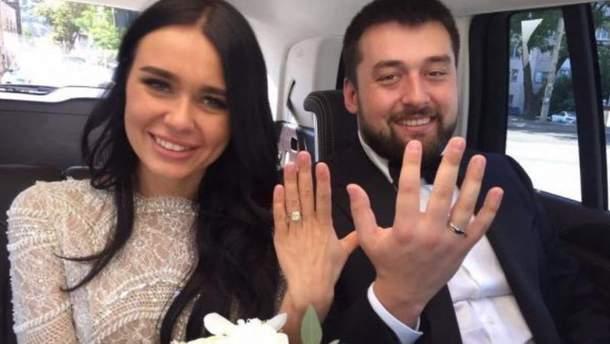 Александр Луценко женился на Анастасии Волохиной 9 сентября