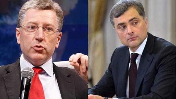 Волкер сделал заявление о роли Суркова в войне на Донбассе