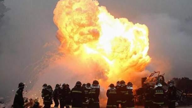 У Китаї стався вибух на заводі феєрверків: є жертви