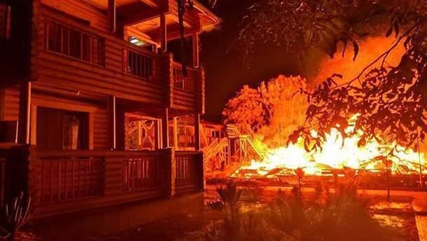 """Пожар в лагере """"Виктория"""" в Одессе мог случиться из-за поджога"""