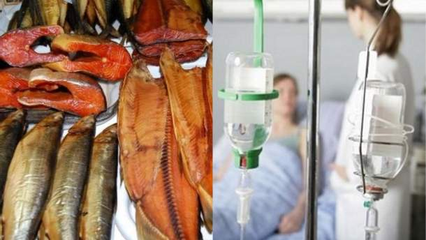 Во Львове копченой рыбой отравились 22 человека