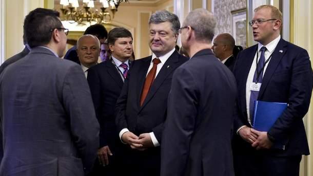Встреча Порошенко в Канаде