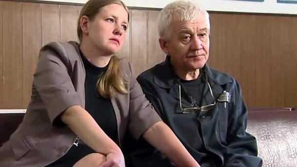 Сергей Ткач и его жена Елена