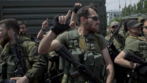 Воины Кадырова на Донбассе
