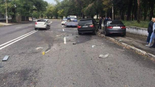 Авария с участием полицейских