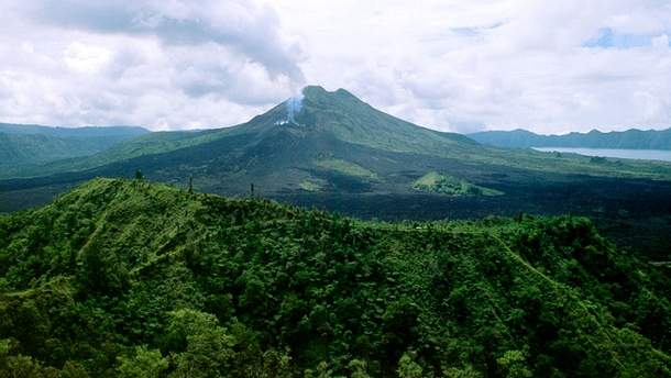Вулкан на Балі