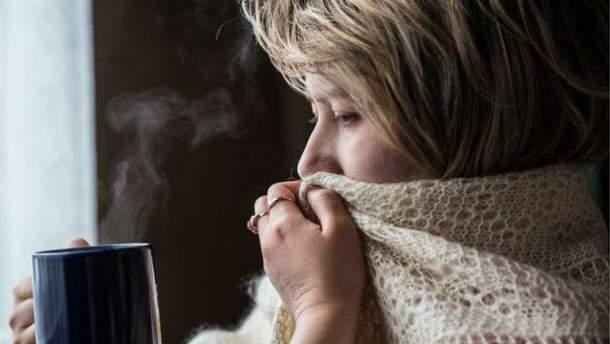 В Украину идет сильное похолодание
