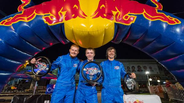 Переможці Red Bull Kart Fight