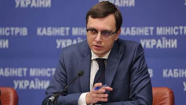 Министр инфраструктуры Владимир Омелян подал в суд против МАУ
