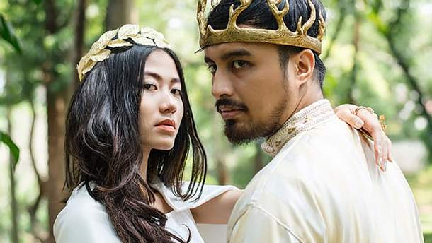 """Закохані зіграли розкішне весілля в стилі """"Гри престолів"""": казкові фото"""
