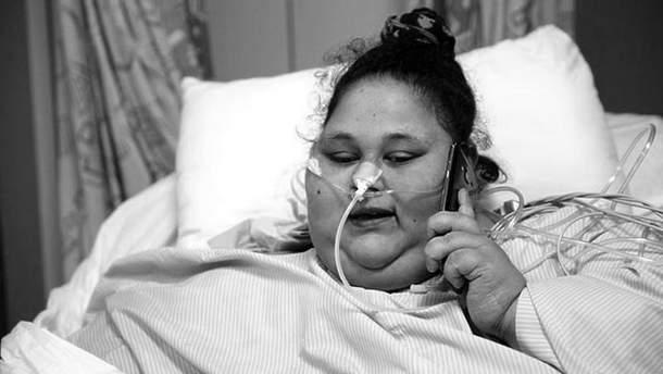 Умерла самая тяжелая женщина в мире Эман Ахмед Аб Эль Ате
