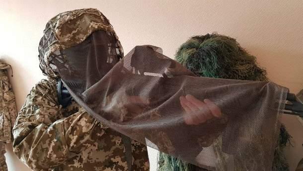 Новая форма украинских снайперов