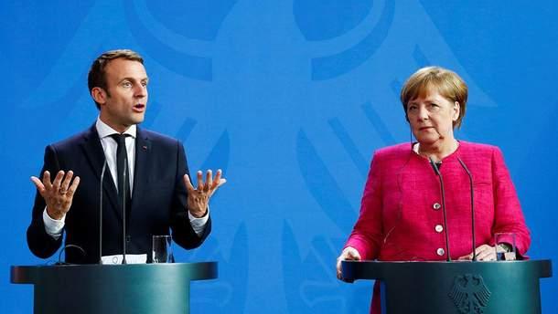 В Германии и Франции завершились избирательные процессы