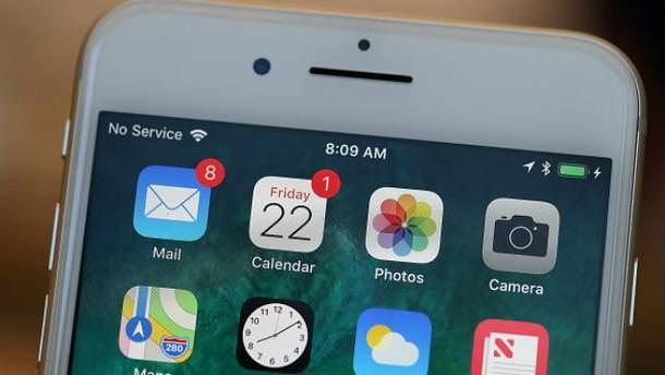 iPhone 8 пытались ввезти в Украину контрабандой