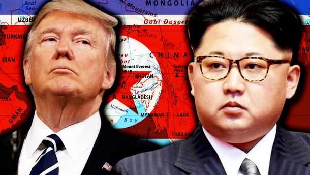 Мир на грани войны между США и КНДР