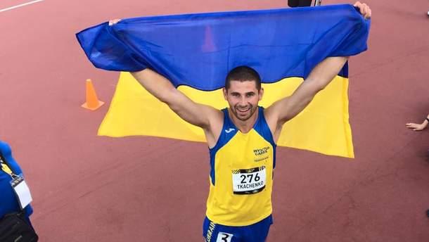 Александр Ткаченко получил серебряную медаль