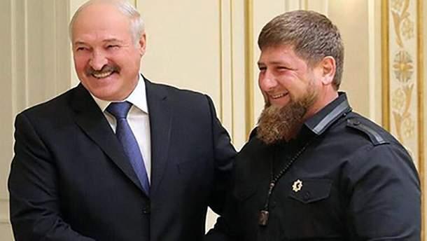 Рамзан Кадиров зустрівся з Олександром Лукашенко