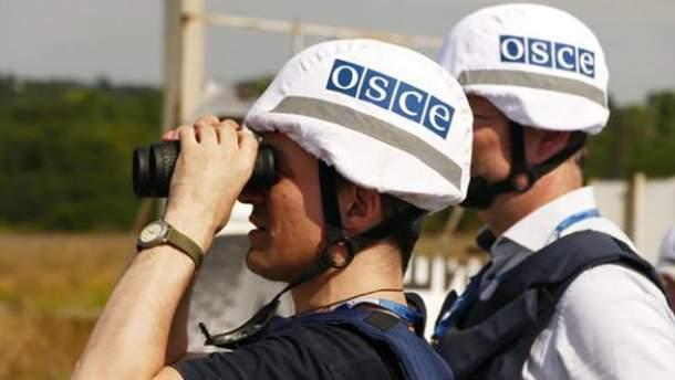 """Террористы """"ДНР"""" не будут охранять миссию ОБСЕ"""