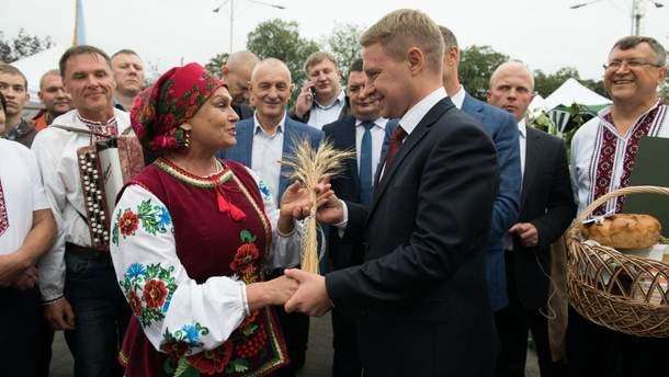 Празднование Дня Киевской области