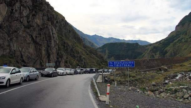 На границе Грузии и России произошел взрыв