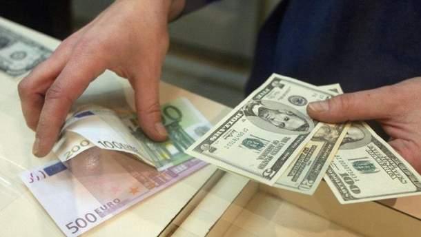 Наличный курс валют 26 сентября в Украине
