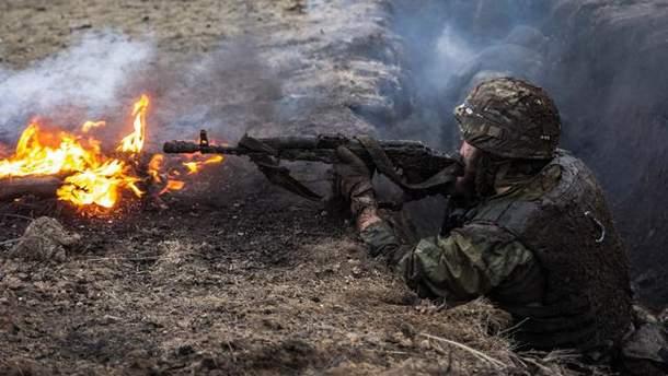 Силы АТО вынуждены были ответить огнем на поражение на провокации боевиков