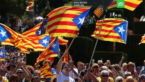 """""""Російськи слід"""" референдуму в Каталонії"""