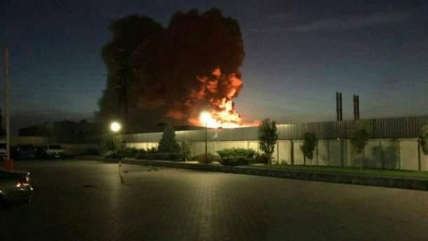 """Пожежа на заводі """"Біофарма"""" у Білій Церкві сталась в понеділок 25 вересня"""