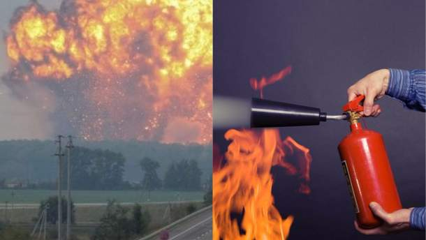 Взрывы в Калиновке: военная часть приобрела противопожарное оборудование в сомнительной компании