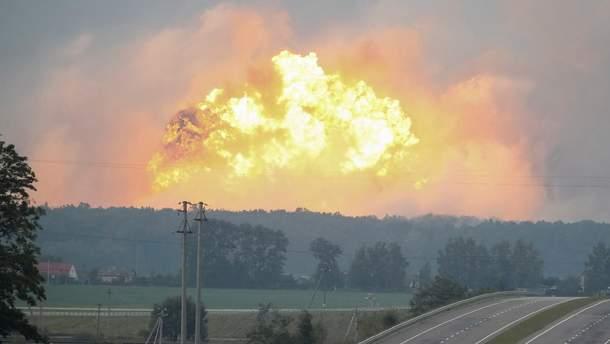 Взрывы в Калиновке