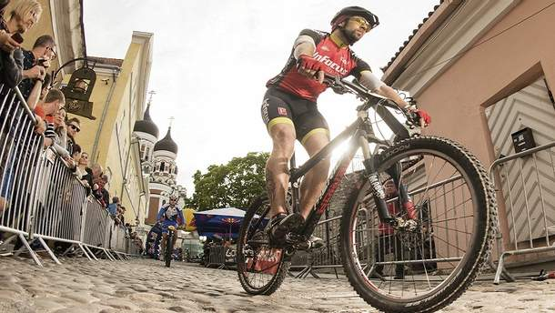 Велогонки Red Bull Властелин Горы