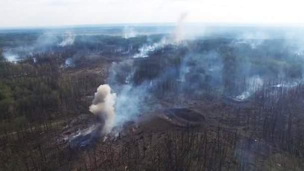 Взрывы в Калиновке прекратились