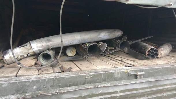 Боеприпасы в Калиновке